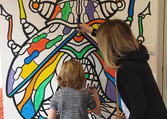 Coloriage participatif