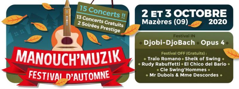 Manouch' Muzik Festival d'Automne