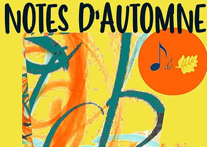 Logo Festival Notes d'Automne