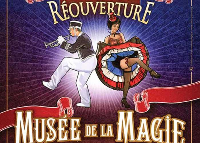 Logo Cérémonie de Réouverture du Musée de la Magie