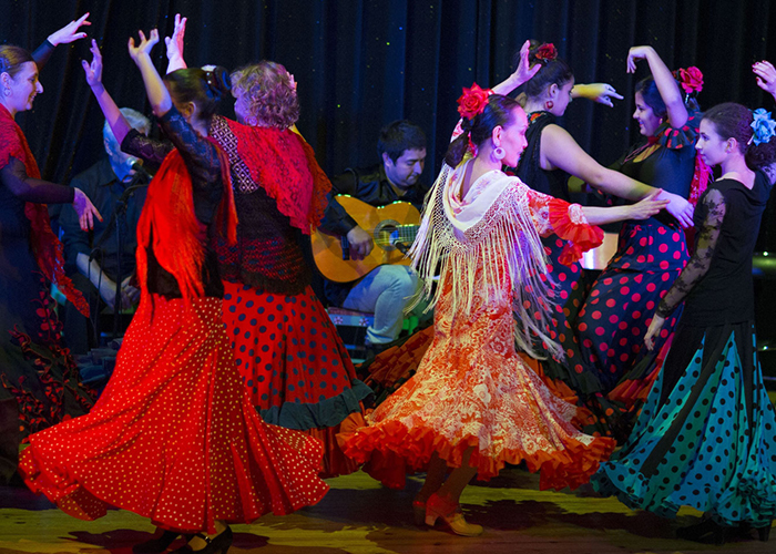 Logo Spectacle de danse Flamenco