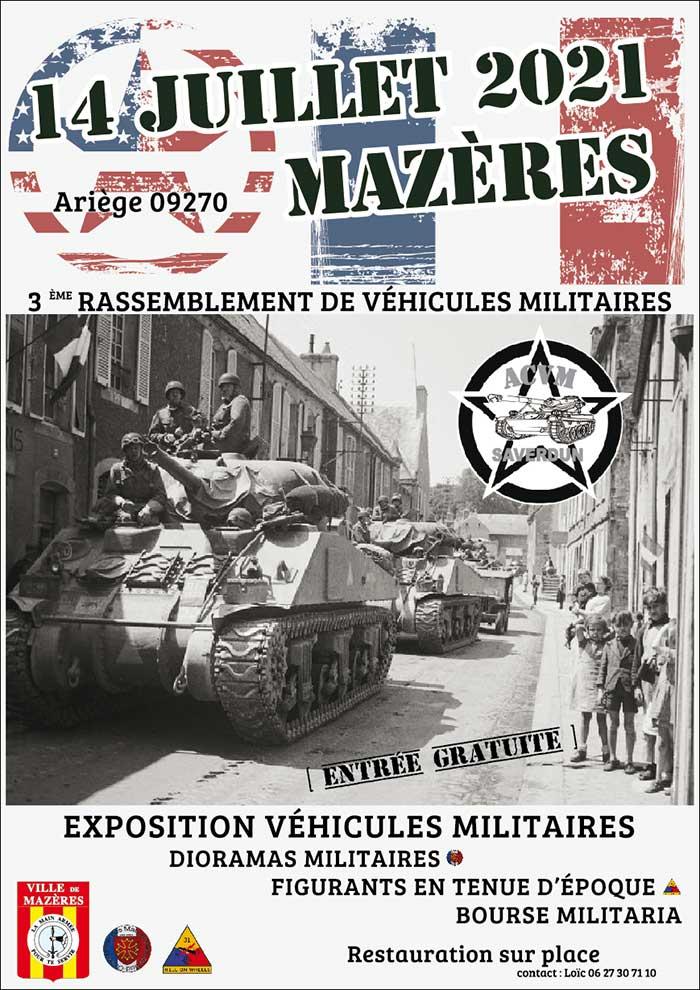 Logo Exposition de véhicules militaires