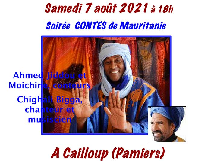 Soirée Contes de Mauritanie
