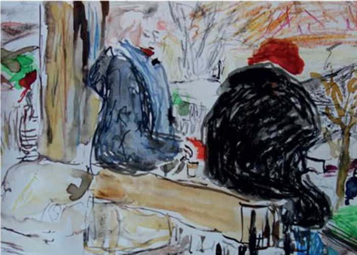 Peintures de Laurent Marguliew