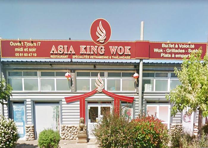 Logo ASIA KING WOK